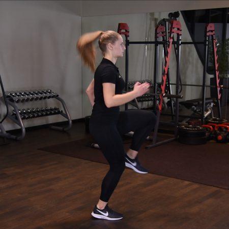 Ćwiczenia dla kobiet - Skip A - just be fit