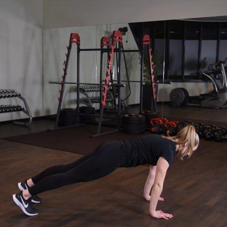 Ćwiczenie Inchworm - just be fit