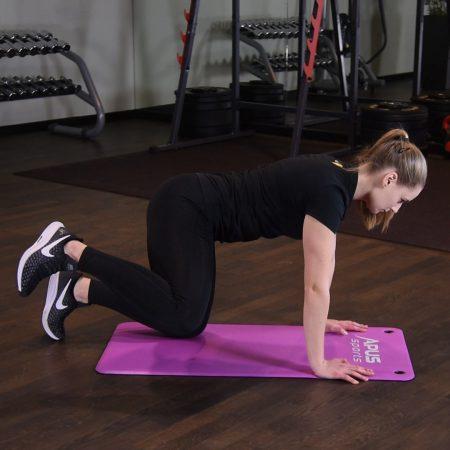 Odwodzenie nogi w klęku podpartym - just be fit