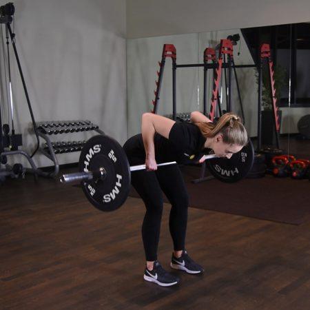 Pendlay row - just be fit