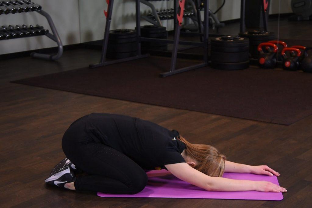 Ćwiczenie Ukłon japoński - just be fit