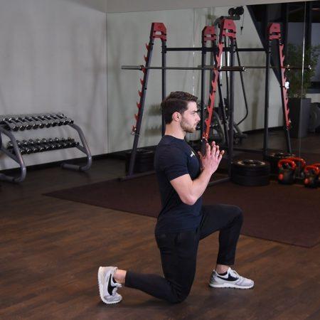 Ćwiczenie Wykroki - just be fit