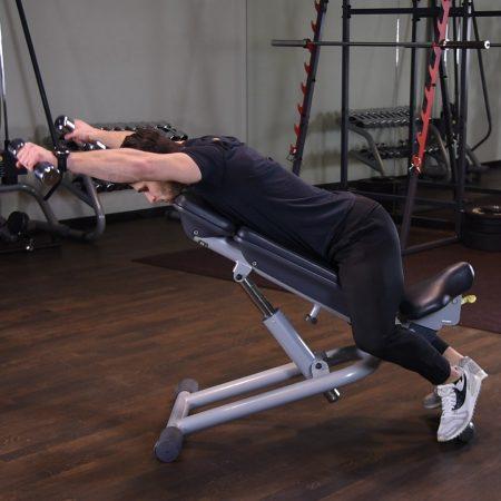 Ćwiczenie Y raise - just be fit