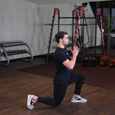 Ćwiczenie Zakroki - just be fit