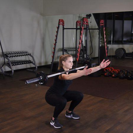 Zombie squat - Przysiad - just be fit