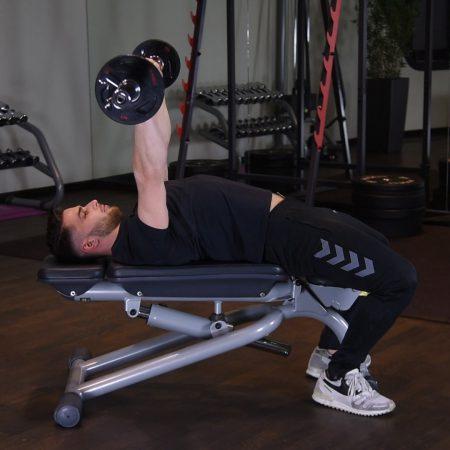 Wyciskanie sztangi leżąc na ławce płaskiej - just be fit